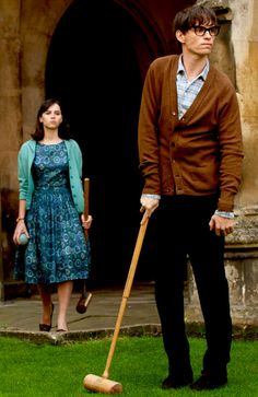 """Jane & Stephen Hawking in """"The Theory of Everything""""  This was the toughest scene to me..."""