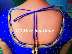 Simple and elegant Neckline design form G2 - Mizz Boutique :-) Price Range starts from 1500 ;-) For more details contact 9003155128.