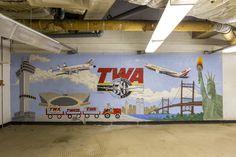 閉鎖された「未来の空港ターミナル」TWAフライトセンターに潜入 – WIRED.jp