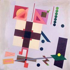 Inventenr la Joie - Rudolf Bauer. – « Allegro », 1938, Alexander Rodchenko, Postmodernism, Sacred Geometry, Abstract Art, Shapes, Tobias, History, Masters, Photographers