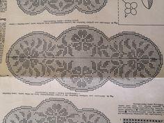 Filet Crochet Charts, Crochet Diagram, Cross Stitch Kits, Doilies, Farmhouse Rugs, Cross Stitch, Crochet Stitches Chart, Crochet Chart, Crochet Patterns