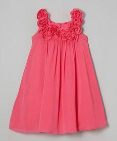 Look at this #zulilyfind! Dorissa Watermelon Julie Dress - Girls by Dorissa #zulilyfinds