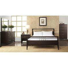 Found it at Wayfair - Danby Platform Customizable Bedroom Set