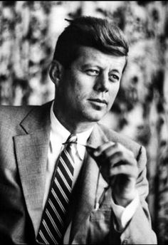 1955. Senator John F. Kennedy by Verner Reed//Time Life Pictures/Getty Images ~Repinned Via Olivia Byrne ❦ ♀ ⭐ ❥