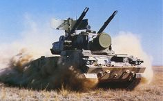 Tunguska M1 Anti-Aircraft System