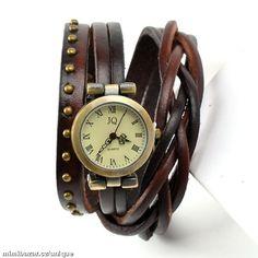 Vintage Retro dámské náramkové hodinky 8 barev