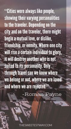 Travel quote by Roman Payne