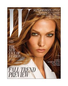 W July 2012 Karlie Kloss by Steven Meisel #kalriekloss