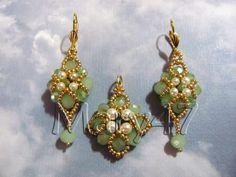 orecchini e pendente barocco di Chiara Gandini