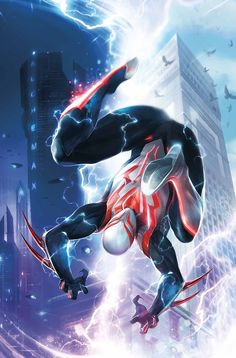 SPIDER-MAN 2099 #1 & 2 PETER DAVID (w) • WILL SLINEY (a) CoverS by FRANCESCO MATTINA ISSUE #1 – DESIGN VARIANT BY KRIS ANKA