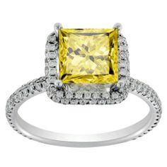 3.00 TCW 18k White Gold Princess Cut Fancy Yellow Diamond Engagement Ring Julias Diamonds,http://www.amazon.com/dp/B009027XQS/ref=cm_sw_r_pi_dp_HcDgtb0ZF1E9T82E
