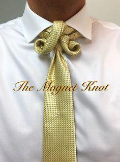 Knot by Boris Mocka Cool Tie Knots, Cool Ties, Eldredge Knot, Fancy Tie, Tie A Necktie, Scarf Knots, Black Tie Affair, Tie Styles, Character Outfits