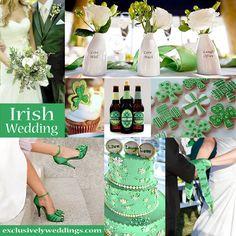 Irish Wedding Theme | #exclusivelyweddings