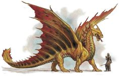 Brass dragon (Dungeons & Dragons) - Monsters & Creatures Wiki