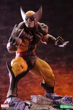Wolverine - Danger Room Sessions - Brown Costume Fine Art Statue | Comic Book Statues and Busts