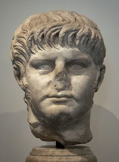Head of the emperor Nero. Photo by Sergey Sosnovskiy. Ancient Rome, Ancient Art, Short Beard, Roman History, Roman Empire, Emperor, Romans, Bodies, Marble