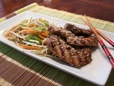 Pork Loin with Sesame Seeds Recipe