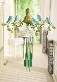 Bird Chandelier Wind Chime (posted by Karen) by Collections etc.