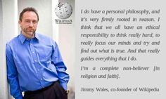 Jimmy Wales | Famous Atheists and Freethinkers