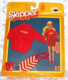 Vintage Mattel Barbie 1983 Skipper Fashion Fantasy Clothes 4876 NIP | eBay