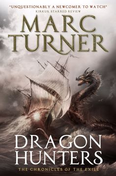 Books by Proxy | The Friday Face-Off - Dragon Hunters by Marc Turner UK Cover