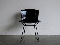 Vintage Knoll Bertoia Wire Fiberglass Side Chair