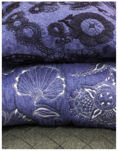 Unusual hues and rich detail in fabrics by Studio Urban Monsoon.