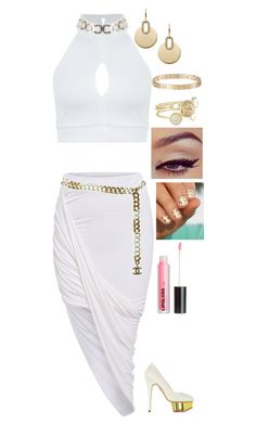 """""""If I Never Knew You"""" by dragongirl145 ❤ liked on Polyvore featuring Miss Selfridge, Chanel, Charlotte Olympia, Cartier, Ted Baker, Michael Kors and H&M"""
