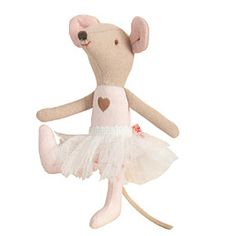 ballerina mouse from Pink Olive - $22.00