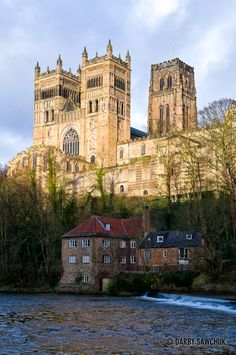 Durham Cathedral and the Fulling Mill in Durham, England