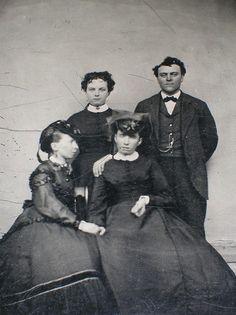 Tintype, 1870. Postmortem?