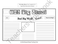 the true story of the big bad wolf pdf