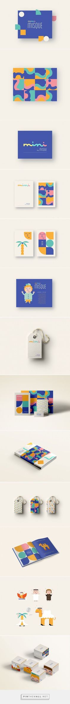 Branding | Graphic Design | Mini Misque Branding.