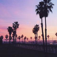 pretty pink skies #planetblue
