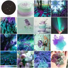 Zodiac aesthetics: Colour combinations, Part 1