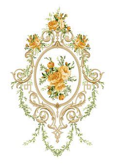 Black Gold Jewelry, Album Design, Botanical Flowers, Border Design, Textile Design, Baroque, Antiques, Prints, Jacobean
