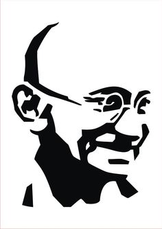 A tribute to Mahatama Gandhi, with this easy-to-apply wall-sticker, dedicated to him! Check out more designs on www.gloob.in