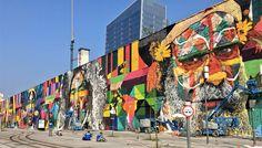 Eduardo Kobra - Todos somos uno, Rio de Janeiro, murales, 2016