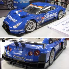 Calsonic #Nissan GT-R scale model C.A.R.S. in Miniature January 2010 Holiday Banquet  More  at http://www.carsandracingstuff.com/library/g/gt-r.php