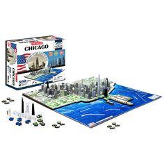 Chicago 4D Cityscape Puzzle
