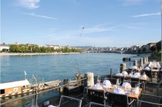 Restaurant Rhypark - Eventlocation in Basel #Brunch Basel, Brunch, Restaurant, Switzerland, Diner Restaurant, Restaurants, Dining