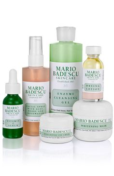 I have been using Mario Badescu Skincare for a few months now and I can not even begin to describe how much I love it.