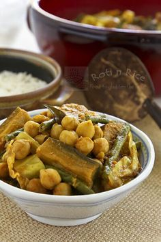 Beans and Vegetable Curry