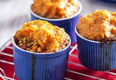Quorn mince means you can enjoy Mexican-style cottage pies (topped with sweet potato mash) in meat-free form. It's a great recipe base for other meals, too!