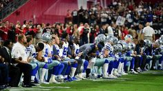 Perry Chiaramonte                                             Dallas Cowboys players, coaches and staff took a knee prior to the national anthem Monday.                                          (Matt Kartozian-USA TODAY Sports)    The Dallas Cowboys briefly kneeled before the national anthem... - #Briefly, #Cowboys, #Football, #Kneel, #Monday, #Nat, #News, #Night