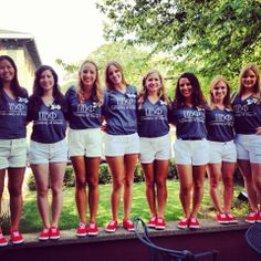 Pi Phi cutie pies <3 #openhouse #matching #redshoes