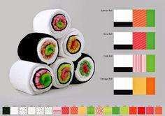Sushi Towel Rolls