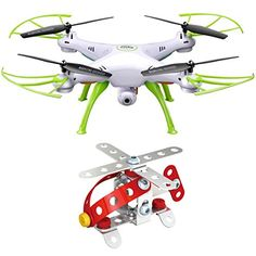 SYMA Upgraded Version X5HC 4CH 24GHz 6Axis RC Quadcopter With 2MP HD Camera AUTO Hovering Headless Mode Drone * For more information, visit image link. This Amazon pins is an affiliate link to Amazon.