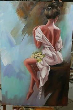 Discover recipes, home ideas, style inspiration and other ideas to try. Figurative Kunst, Acrylic Art, Portrait Art, Beautiful Paintings, Painting & Drawing, Woman Painting, Female Art, Watercolor Paintings, Art Drawings