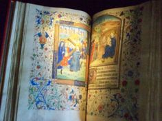 Anne Boleyn's Book of Hours, now at Hever Castle, the ancestral Boleyn family home.